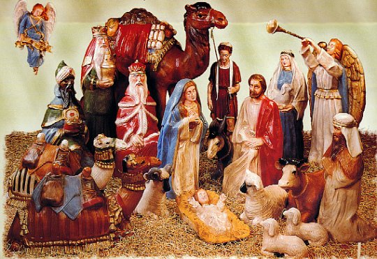 LIFE SIZE - NATIVITY DISPLAYS